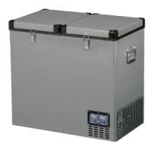 Автомобильный двухдверный холодильник Indel B TB118 фото
