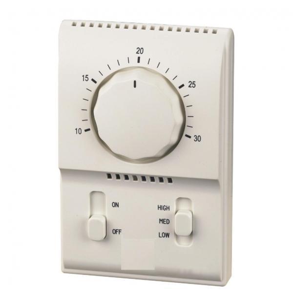 Термостат для фанкойлов канального типа Kitano KP-KJR-18B/E фото