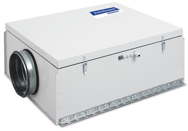 Приточная вентиляционная установка Komfovent Komfovent Domekt-S-1000-F-E/9 (F7 ePM1 55)