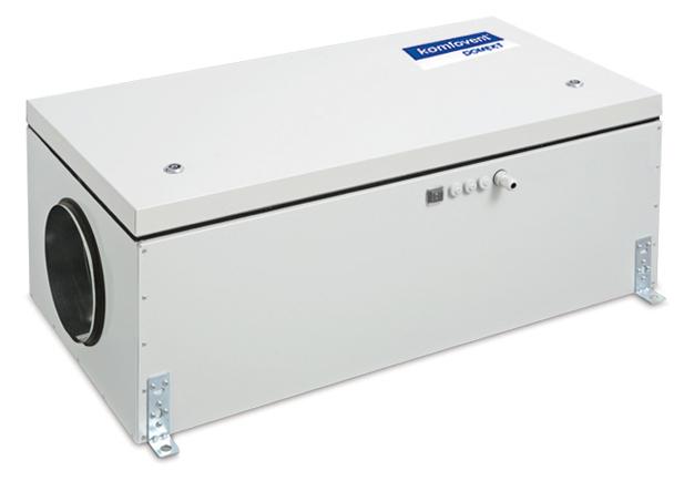 Приточная вентиляционная установка Komfovent Komfovent Domekt-S-800-F-W (M5 ePM10 50)