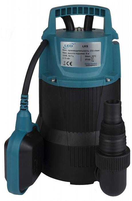 Фото - Дренажный насос LEO LEO LKS-756 PW дренажный насос для чистой воды leo lks 1004p 1000 вт