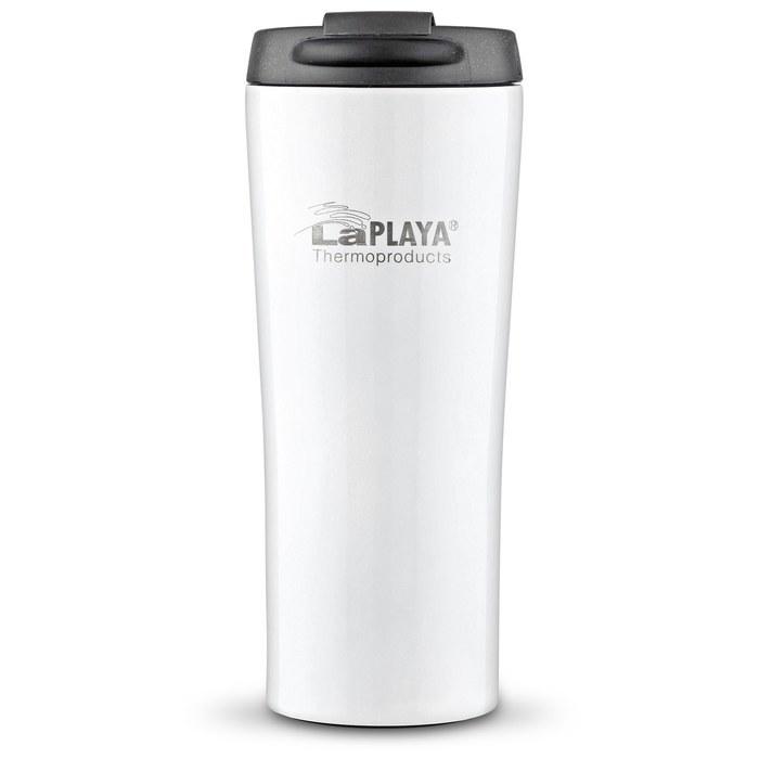 Термос LaPlaya Vacuum Travel Mug 0,4 L White фото
