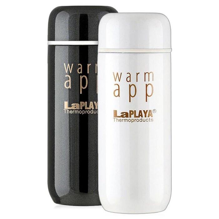 Термос LaPlaya WarmApp black/white 0,2 L фото