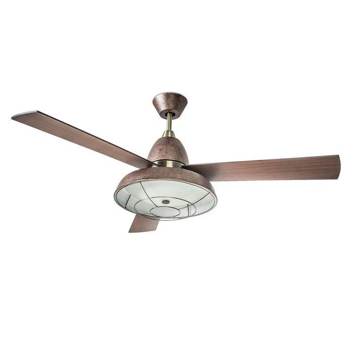 Купить Вентилятор с подсветкой Leds-C4 VINTAGE в интернет магазине климатического оборудования