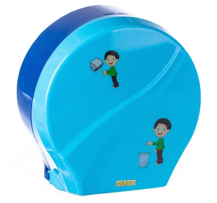Диспенсер для туалетной бумаги Mario Kids 8165 blue фото