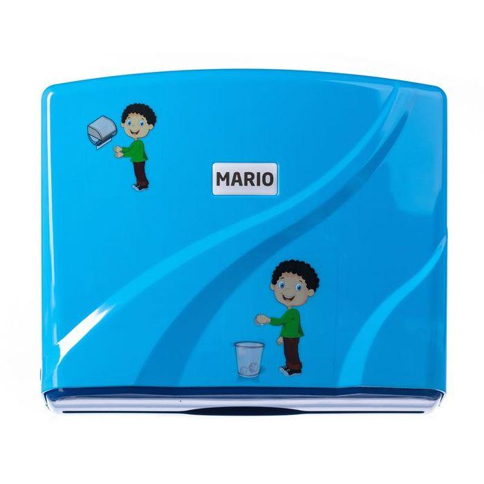 Диспенсер для бумажных полотенец Mario kids 8329 blue фото