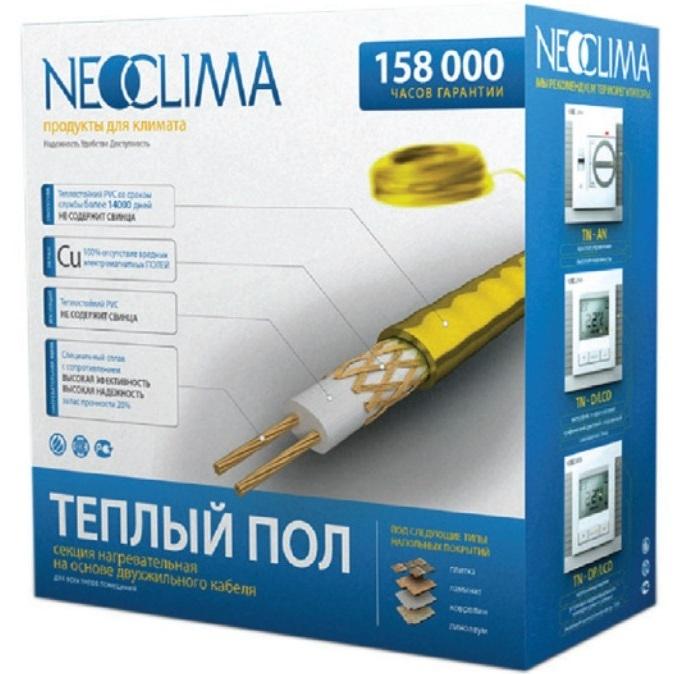 Нагревательный кабель 5 м<sup>2</sup> Neoclima NCB700/40 фото