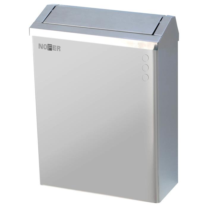 Урны для мусора Nofer Nofer Контейнер для мусора 23 л. push-open (14078.S) урны для мусора nofer nofer контейнер для мусора 23 л push open 14078 s