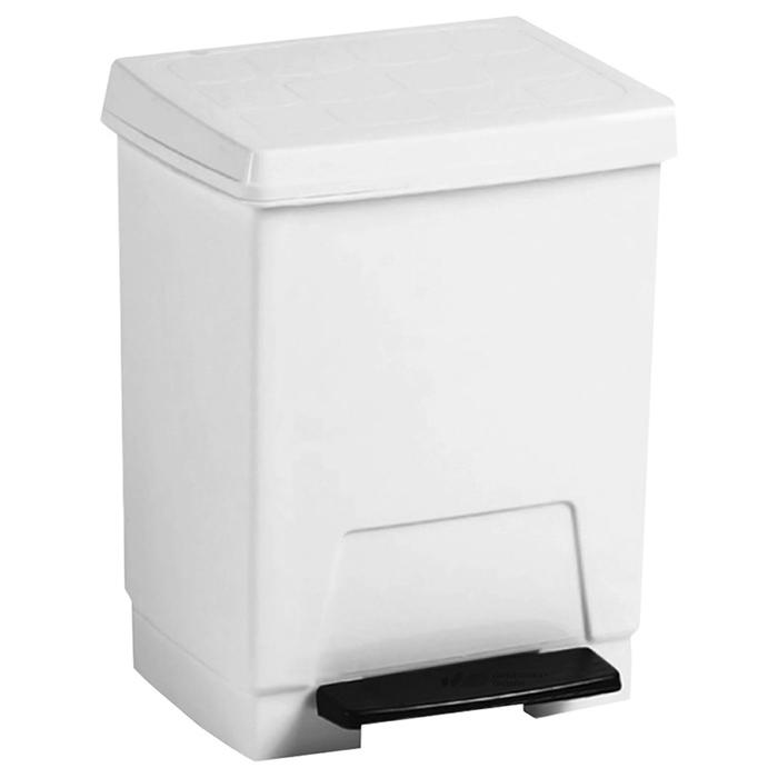 Урны для мусора Nofer Nofer Контейнер для мусора белый 23 л. (14026) урны для мусора nofer nofer контейнер для мусора 23 л push open 14078 s