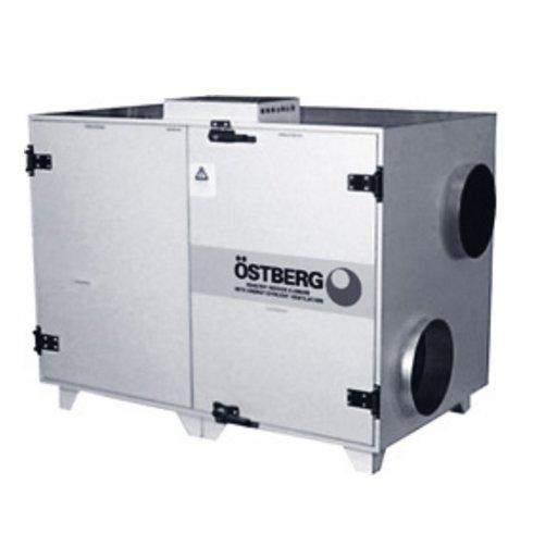 Купить Приточно-вытяжная вентиляционная установка 3000 м3/ч Ostberg HERU 600 S RWR в интернет магазине климатического оборудования
