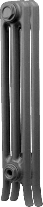 Чугунный радиатор RETROstyle RETROstyle Derby CH 600/110 нижнее подключение 2 секции радиатор retrostyle leicester x6