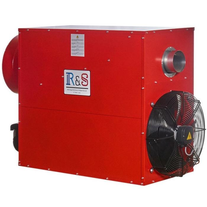 Дизельный теплогенератор R-and-S 60D (230 V -1- 50/60 Hz) фото