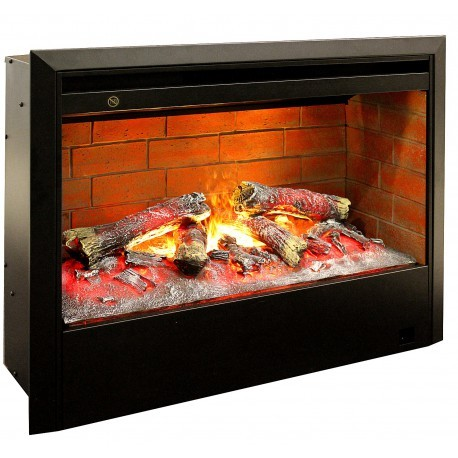 Широкий очаг Real-Flame 3D HELIOS 26 фото