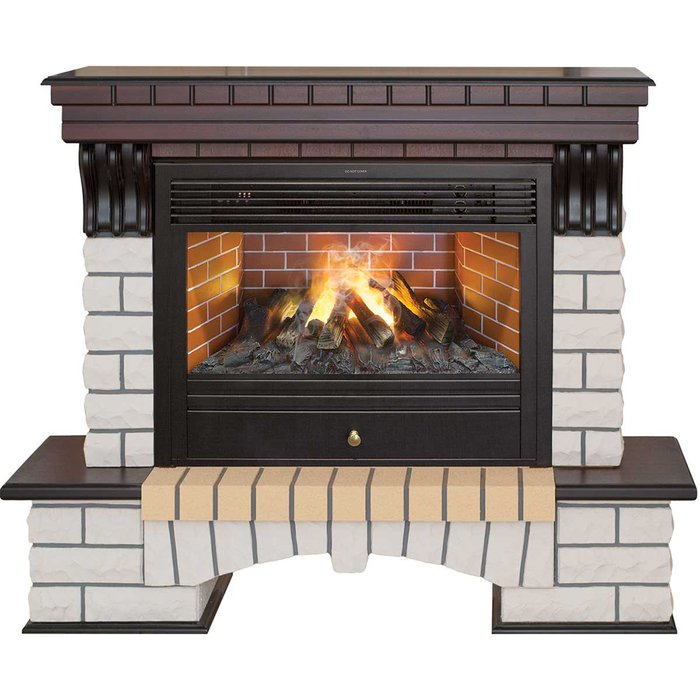 Купить со скидкой Керамический каминный комплект Real-Flame