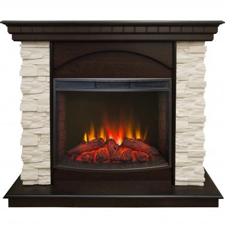 Купить Real-Flame Elford STD/EUG AO с очагом Evrika 25,5 LED в интернет магазине. Цены, фото, описания, характеристики, отзывы, обзоры