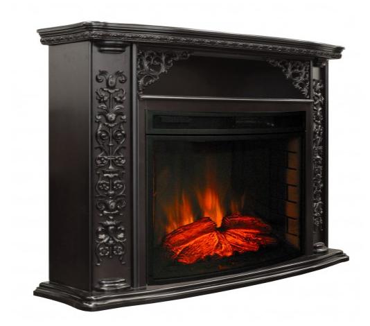 Пристенный электрокамин Real-Flame Real-Flame Izabella 33 DN с очагом Firespace 33 S IR