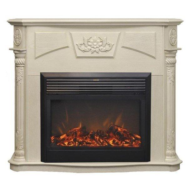 Камин для квартиры Real-Flame Sofia 26 WT с очагом Moonblaze lux Bl/Br фото