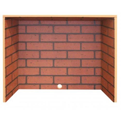 Вставка для электроочага Real-Flame Вставка Brick 26 фото