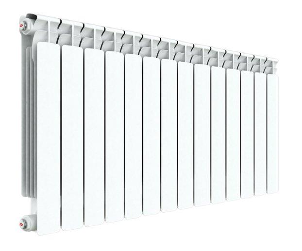 Купить со скидкой Биметаллический радиатор Rifar