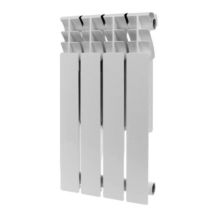 Алюминиевый радиатор Rommer Plus 500 4 секций фото