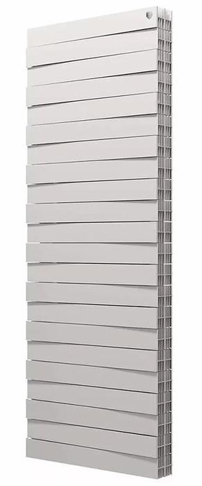 Биметаллический радиатор Royal Thermo Piano Forte Tower/Bianco Traffico 22 секций фото