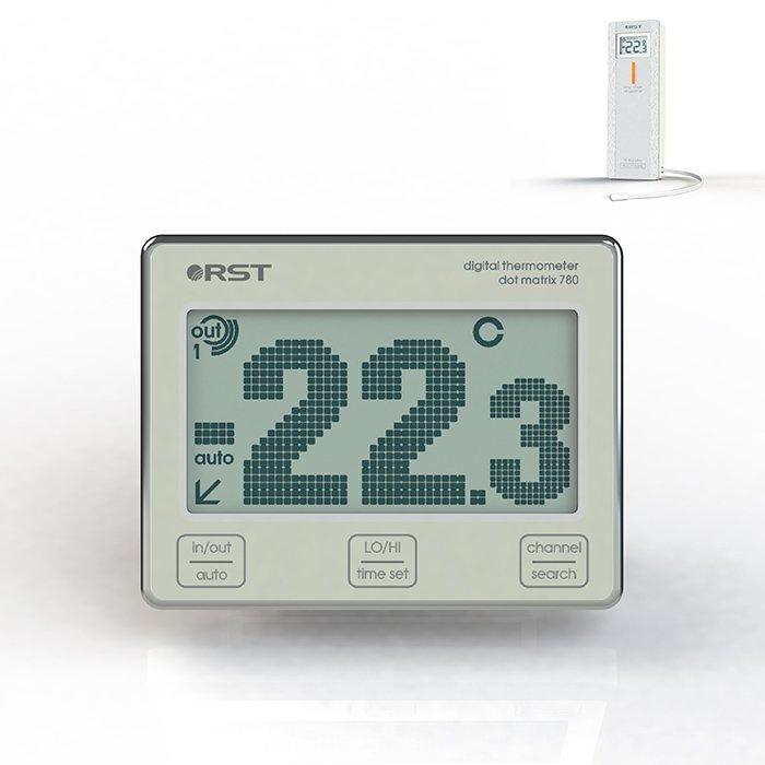 Фасадный термометр Rst Rst 02780
