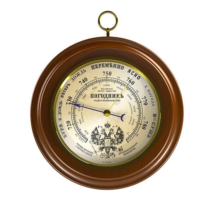Деревянный барометр Rst Rst 05330