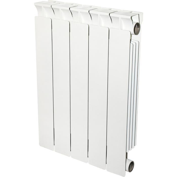 Биметаллический радиатор STOUT STOUT STYLE 500 12 секций биметаллический радиатор rifar рифар b 500 нп 10 сек лев кол во секций 10 мощность вт 2040 подключение левое