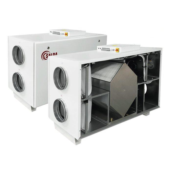 Купить Приточно-вытяжная вентиляционная установка 2000 м3/ч Salda RIS 2200 HW EKO 3.0 в интернет магазине климатического оборудования