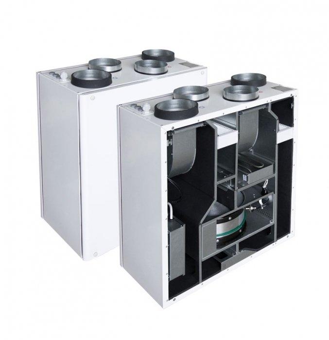Приточно-вытяжная установка с электрическим нагревателем Salda Smarty 2 R VEL plus фото