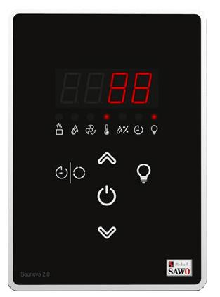 Пульт управления SAWO SAWO Saunova User Interface 2.0