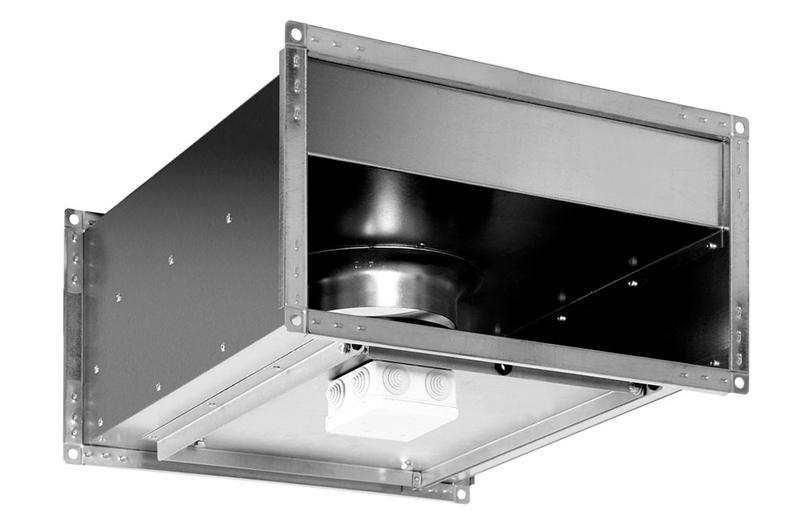 Прямоугольный канальный вентилятор Shuft RFD-B EC 600x300