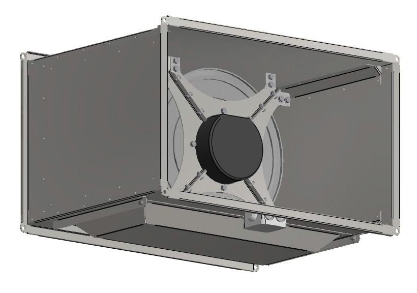 Вентилятор Shuft TORNADO EC 900x500-40-D фото