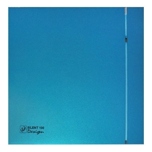 Накладная вытяжка для ванной Soler & Palau SILENT-100 CZ BLUE DESIGN-4C фото