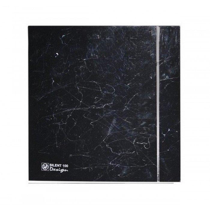 Бесшумный вентилятор Soler & Palau SILENT-100 CZ MARBLE BLACK DESIGN-4C фото