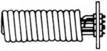 Теплообменник WTW 28/18 для водонагревателей Stiebel Eltron