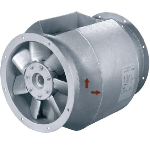 Высокотемпературный осевой вентилятор Systemair AXCBF 315D2-30 IE2 фото
