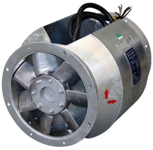 Вентилятор Systemair AXCBF-EX 400-7/32°-4 (EX-RU) фото