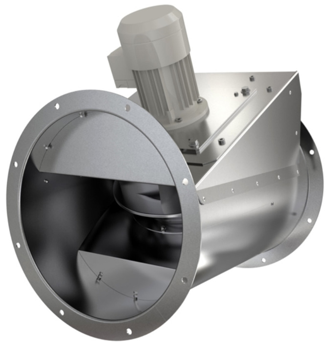 Вентилятор Systemair AxZent 400D2 IE2 фото
