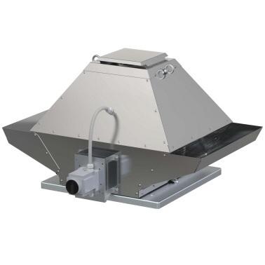 Крышный вентилятор дымоудаления Systemair DVG-V 800D8/F400 фото
