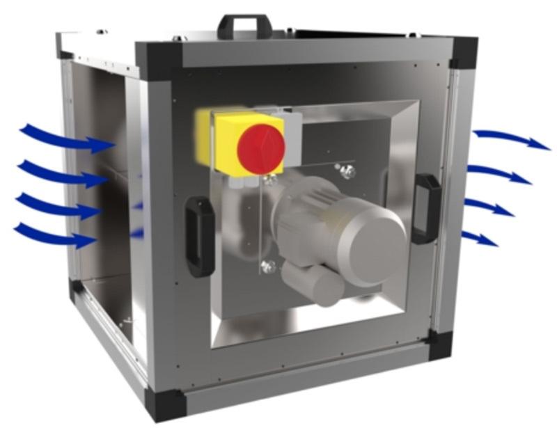 Вентилятор Systemair Systemair MUB/T-S 062 500D4 IE2 вентилятор systemair systemair mub cav vav 100 710ec