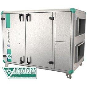 Приточно-вытяжная установка Systemair Topvex SR04 HWH-L-CAV фото