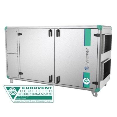 Приточно-вытяжная установка с электрическим нагревателем Systemair Topvex SX/C06 EL-L фото