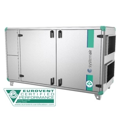 Приточно-вытяжная система вентиляции промышленного здания Systemair Topvex SX/C06 HWL-L фото