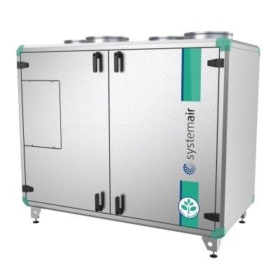Приточно-вытяжная установка с электрическим подогревом воздуха Systemair Topvex TX/C03 EL-R фото