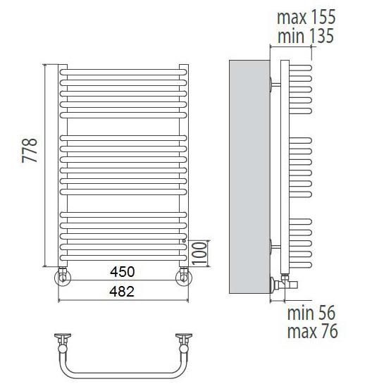 Купить Terminus Стандарт П16 450*778 в интернет магазине. Цены, фото, описания, характеристики, отзывы, обзоры