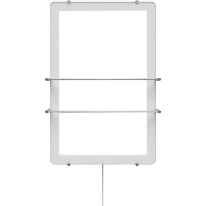 Зеркальный электрический полотенцесушитель ThermoUp Dry Side (frame) фото