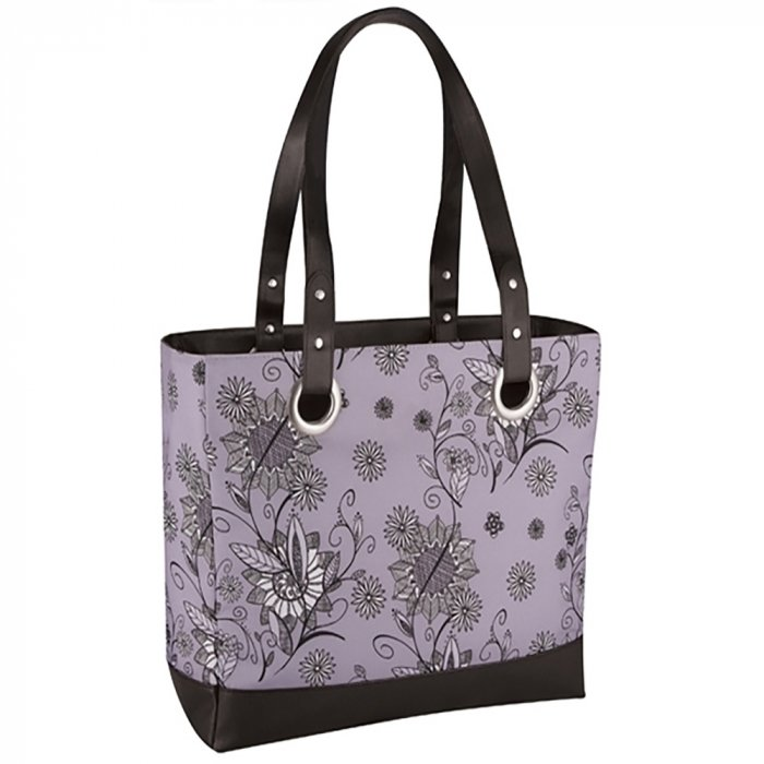 Сумка-термос Thermos Raya 24 Can Tote-Purple Flower