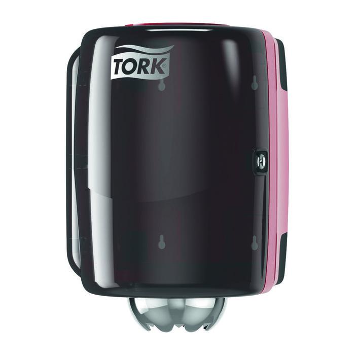 Диспенсер для бумажных полотенец Tork Performance диспенсер красный фото