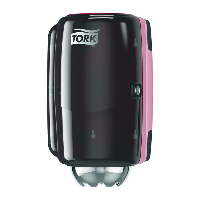 Диспенсер для бумажных полотенец Tork Performance мини-диспенсер красный фото